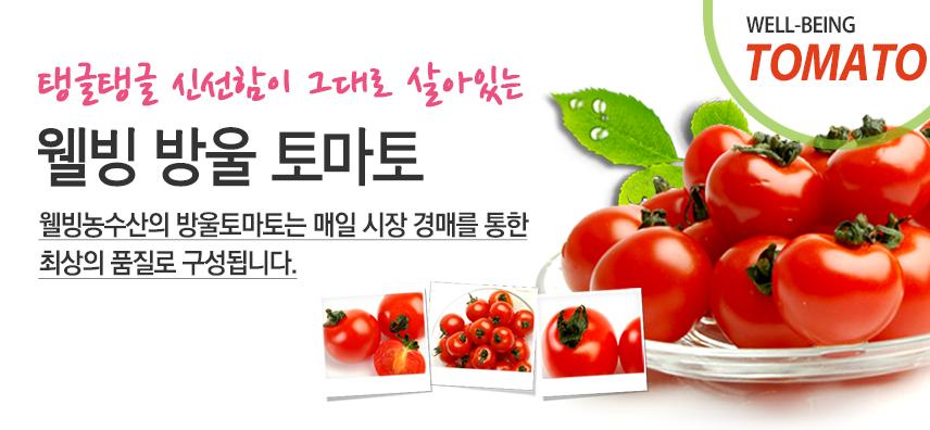 탱글탱글 신선함이 그대로 살아있는 웰빙 방울 토마토